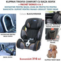 Klippan TRIOFIX COMFORT 9-36 KG cu BAZA ISOFIX