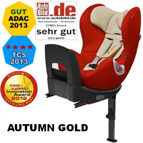 Scaun auto Cybex Sirona Isofix 0-18 kg autumn gold
