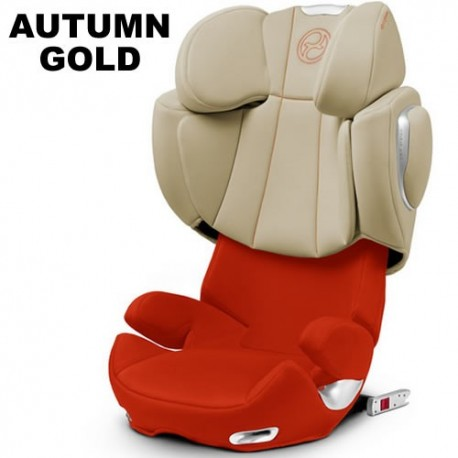 Scaun auto Cybex Solution Q2-Fix Platinum 15-36 kg autumn gold