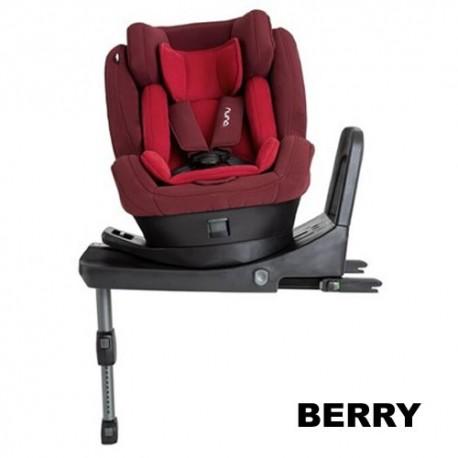 Scaun auto Nuna REBL i-Size 0-19,5 kg berry