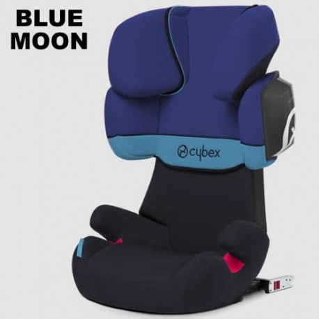 Scaun auto Cybex Solution X2-Fix Silver 15 - 36 kg blue moon