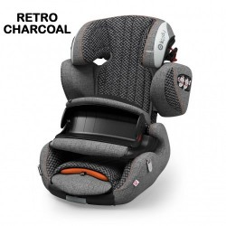 Scaun auto Kiddy GuardianFix 3 9-36 kg Retro Charcoal