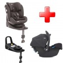 Pachet Joie Stages isofix si scoia Joie i-Snug