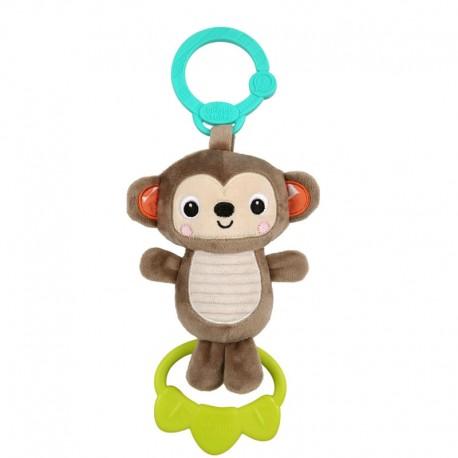 Jucarie plus Maimutica pentru carucior Tug Tunes Bright Starts