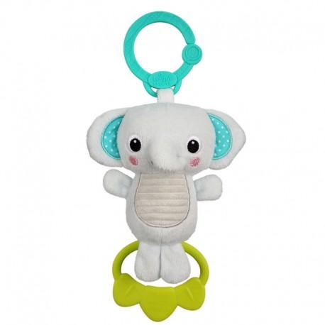 Jucarie plus Elefant pentru carucior Tug Tunes Bright Starts