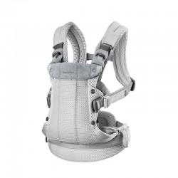 Marsupiu anatomic cu multiple pozitii de purtare BabyBjorn Harmony 3D Mesh Silver