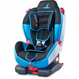Scaun auto Caretero SPORT TURBOFIX ISOFIX 9-25 Kg albastru