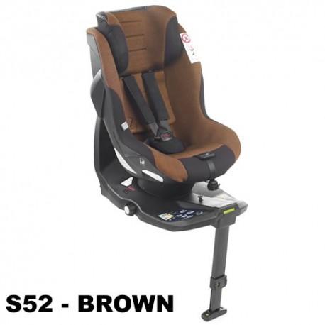 Scaun auto Jane Gravity i-Size 0-18 kg S52 BROWN